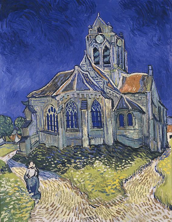 eglise-d-auvers-sur-oise_-_the-church-in-auvers